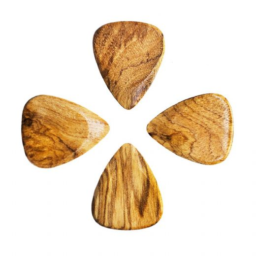 Timber Tones Sugar Maple 4 Guitar Picks